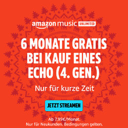 Echo Dot 4 Aktion mit sechs Monaten Amazon Music Unlimited