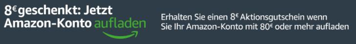 Amazon Gutscheine Oktober - 8 Euro und 9 Euro Gutschein