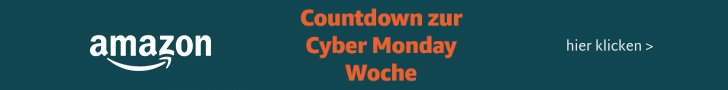 Cyber Monday Woche 2018 bei amazon.de - Erste Countdownangebote online