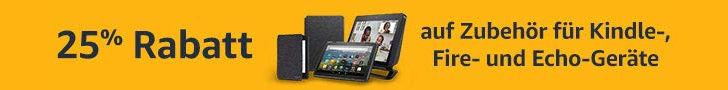 Amazon Gutschein August - 25Sommer - 25% Rabatt auf Amazon Echo, Fire TV und Kindle-Zubehör