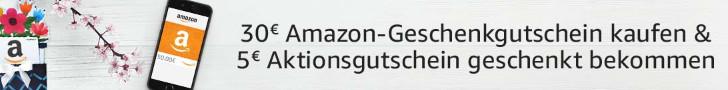 Amazon Gutscheine Mai 2018 - 5 Euro