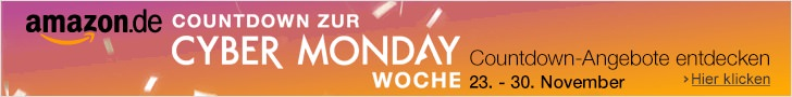 Amazon - Cyber Monday Woche und Black Friday Deals