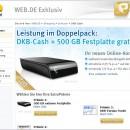 DKB über web.de