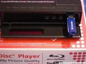 LG BD 370 - USB-Anschluss