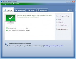 MSE - Microsoft Security Essentials