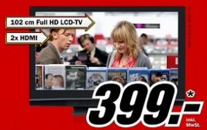 40 Zoll Full-HD Marken-LCD für 399€