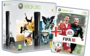 Xbox 360 Elite Fifa 2010 geschenkt