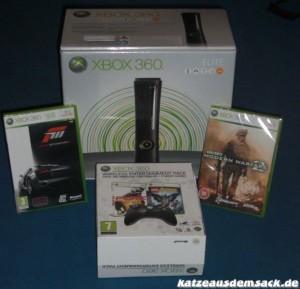 Schnäppchen Bundle Xbox 360 Elite von amazon.co.uk