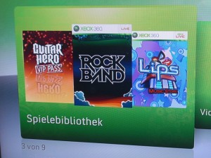 Lips, Rockband, Guitar Hero DLC Music Stores