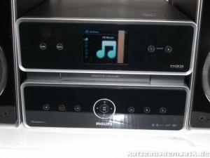 Philips MCi500H Display und Bedienelemente