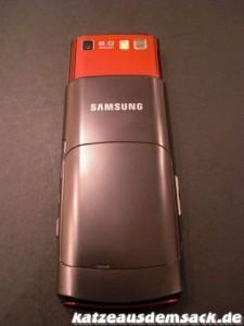Samsung S8300 Touch Ultra Rückseite