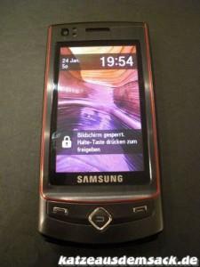 Samsung S8300 Touch Ultra vorne