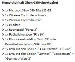 Günstiges XBOX 360 Elite Angebot