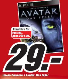 Avatar James Cameron PS3, PC, Xbox 360
