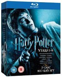 Harry Potter Filme 1-6 Box