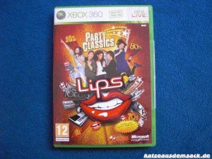 Karaoke-Spiel Lips Party Classics