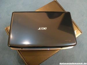 Notebook Acer Aspire - Intel i5 Core - 6 GB RAM - 500 GB Festplatte