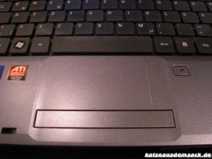 Acter Aspire 5740G Multi-Touchpad