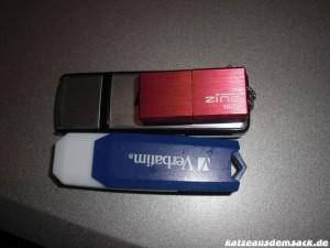 USB Stick Vergleich Hama Verbatim CnMemory