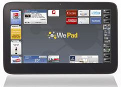 WePad Tablet-PC - iPad Konkurrenz