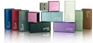 16 GB USB-Stick im Miniformat