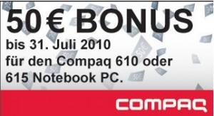 HP/Compaq 50 Euro Cashback Aktion