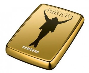 externe 500 GB USB-Festplatte - Michael Jackson - This is it