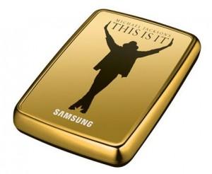 externe 500 GB USB-Festplatte - Michael Jackson - This is it
