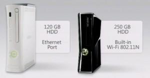 Neue kleinere Xbox 360 mit 250 GB und WLAN-N