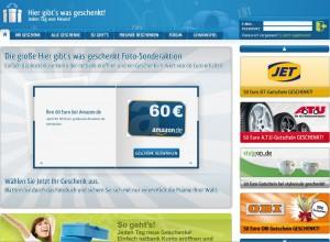 60 € Gutscheine netbank über www.hier-gibts-was-geschenkt.de