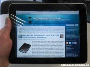 iPad - www.katzeausdemsack.de