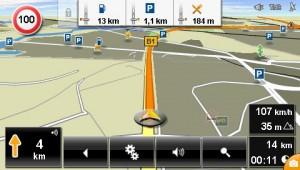 Navigon 40 Plus One-Click-Menu
