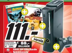 Xbox 360 Elite für 111 €