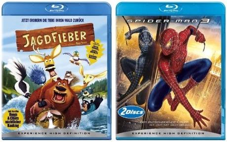 Blu-ray Filme für unter 10 Euro