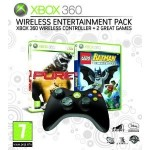 Wireless Entertainment Pack Controller + 2 Spiele günstig