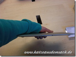 "MacBook Air 11"" Zoll Foto der Front"