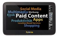 WeTab - Erfahrungen, Testberichte aber kein Gerät im Media Markt