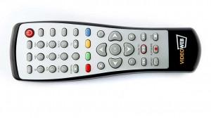 VideoWeb 600S - Fernbedienung