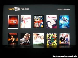 Online Videothek - Video on Demand