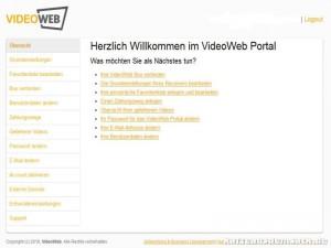 PC-Konfiguration des VideoWeb 600S