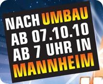 Saturn Mannheim Neueröffnungs-Prospekt
