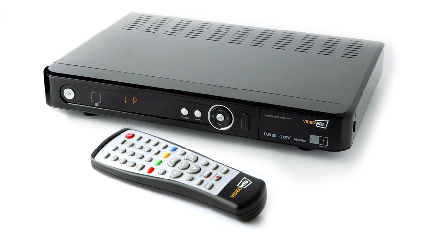 test videoweb 600s hd hybrid hdtv satelliten receiver. Black Bedroom Furniture Sets. Home Design Ideas
