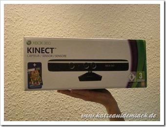 Microsoft Kinect Sensor für die Xbox 360
