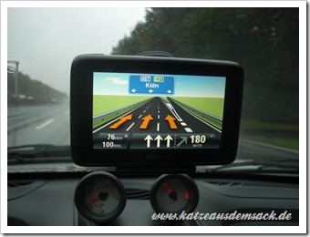 Reality View beim TomTom Go Live 1000