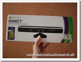 Microsoft Kinect Sensor Verpackungq