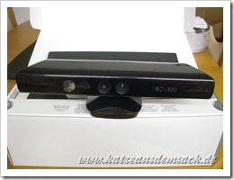 Microsoft Kinect ausgepackt