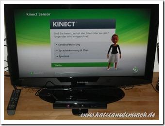 Erfahrungsbericht - Microsoft Kinect - Test