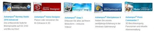 Vollversionen Ashampoo kostenlos herunterladen
