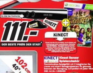 Günstigster Preis für Microsoft Kinect