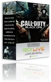 Xbox Live Gold 12 Monate billiger + CoD T-Shirt